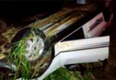 Idosa de 87 anos morre após ser arremessada de carro na BA-263 | Foto: Reprodução | Site Vitória da Conquista Noticias