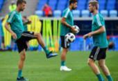 Alemanha encara Suécia por sobrevivência na Copa do Mundo | Foto: Nelson Almeida | AFP