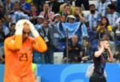 Veja fotos da partida entre Argentina e Croácia | Foto: