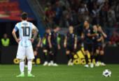 Maradona exime Messi de responsabilidade por derrota argentina | Foto: Dimitar Dilkoff | AFP