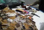 Casal suspeito de tráfico é preso na Ilha de Itaparica | Foto: Divulgação | SSP
