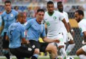 Confira imagens de Uruguai x Arábia Saudita | Foto: