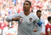 Cristiano Ronaldo marca de novo, Portugal bate Marrocos e encaminha classificação | Foto: AFP
