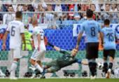 Veja imagens de Uruguai X Rússia | Foto: