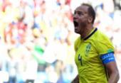 Com pênalti assinalado pelo VAR, Suécia vence Coreia do Sul e pressiona Alemanha | Foto: AFP