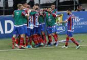 Bahia vence o Ceará na Arena Castelão e fica perto da final da Copa do Nordeste | Foto: LC Moreira | Estadão Conteúdo