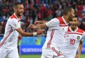 Veja fotos da partida entre Espanha e Marrocos | Foto: