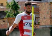 Oficializado, Gilberto só poderá estrear após a Copa | Foto: Felipe Oliveira l EC Bahia