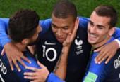 França vence com gol de Mbappé e garante classificação | Foto: AFP