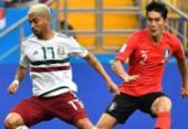 México bate Coreia do Sul e coloca o pé nas oitavas de final da Copa | Foto: AFP