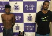 Suspeitos de tráfico de drogas são presos em operação na Gamboa | Foto: Divulgação | SSP-BA