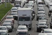 Circulação de caminhões volta a ser fiscalizada em Salvador após greve | Foto: Xando Pereira | Ag. A TARDE | 31.03.2017