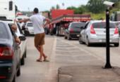Movimento é intenso nas estradas no retorno do feriado de São João   Foto: Luciano Carcará   Ag. A TARDE