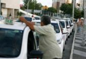 Taxistas terão que apresentar crachá durante blitz, informa SSP | Foto: Joá Souza | Ag. A TARDE