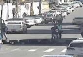 Protesto em Amaralina deixa rua bloqueada | Foto: SSP | Divulgação