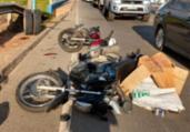 Pneu se desprende de caminhão e atinge mototaxista | Adilton Venegeroles | Ag. A TARDE