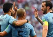Uruguai vence Arábia Saudita e avança às oitavas na Copa   AFP