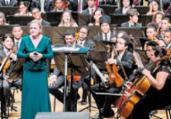 Neojiba recebe regente Ligia Amadio em concerto no TCA   Lenon Reis   Neojiba   Divulgação