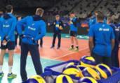 Liga das Nações: Seleção masculina treina por reação | Divulgação l CBV