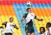 Seleção brasileira volta a treinar para jogo contra a Sérvia | Lucas Figueiredo | CBF