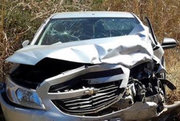 Colisão deixa quatro feridos na BR-242 em Barreiras | Reprodução | Blog Braga