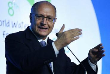 Alckmin começa pela Bahia a garimpar votos em terras áridas | José Cruz | Agência Brasil