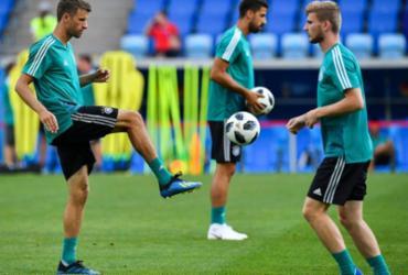 Alemanha encara Suécia por sobrevivência na Copa do Mundo | Nelson Almeida | AFP