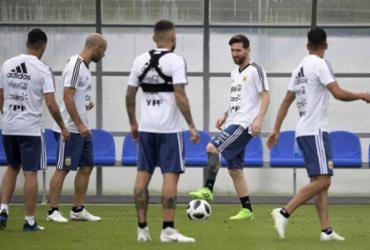 Argentina joga sua vida contra a Croácia   Juan Mabromata   AFP