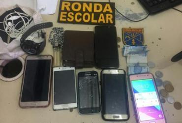 Suspeito de assalto a ônibus é preso em Cosme de Farias | Divulgação | SSP-BA
