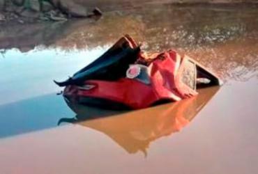 Adolescente morre afogado após carro cair em lagoa | Reprodução | Blog do Marcelo