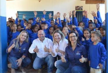ABAPA realiza doação de agasalhos para estudantes de zona rural de Barreiras