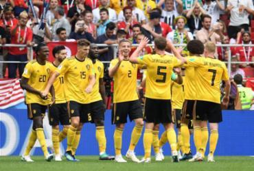 Bélgica goleia Tunísia e fica perto de vaga nas oitavas de final | AFP