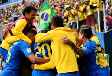 Suiça ganha da Servia e Brasil precisa apenas de uma empate para se classificar | Christophe Simon | AFP