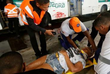 Socorristas realizam simulação de acidente na Estação da Lapa | Raul Spinassé | Ag. A TARDE