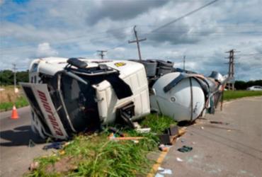 Acidente ocorreu no Polo Industrial de Camaçari - Divulgação | SSP