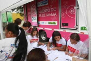 Região de Itabuna recebe o Rastreamento do câncer de mama