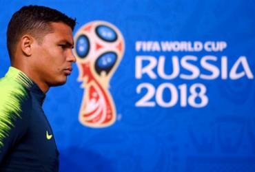Contra a Costa Rica, Thiago Silva volta ser capitão em Copa | Gabriel Bouys | AFP