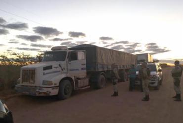 Carreta com 38 toneladas de soja é recuperada no Oeste da Bahia | Reprodução | Sigivilares