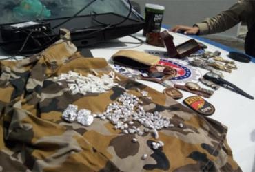 Casal suspeito de tráfico é preso na Ilha de Itaparica | Divulgação | SSP