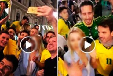 Procuradoria investiga assédio de brasileiros contra mulher na Rússia | Reprodução | Twitter
