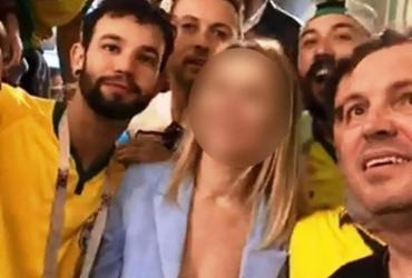Por assédio, autoridades russas avaliam abrir inquérito contra brasileiros | Reprodução | Facebook