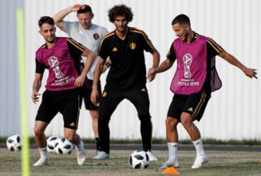 Eden e Thorgan Hazard, irmãos belgas que realizaram um sonho | Adrian Dennis | AFP