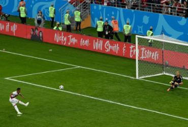 Bola parada, perigo de gol na Copa do Mundo da Rússia | Juan Barreto | AFP
