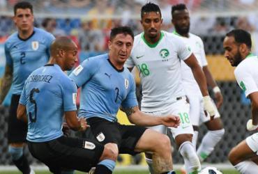 Confira imagens de Uruguai x Arábia Saudita |