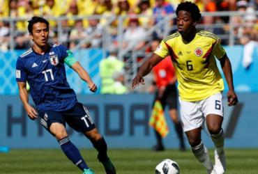 Confira imagens de Colômbia x Japão |