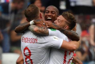 Kane marca três, Inglaterra faz 6 a 1 no Panamá e garante vaga nas oitavas | AFP