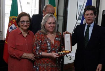 Governo lusitano homenageia o professor Edivaldo Boaventura   Luciano da Matta l Ag. A TARDE