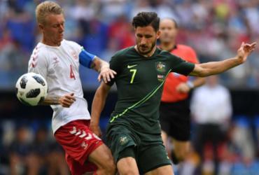 Austrália busca empate com a Dinamarca e segue viva na Copa | AFP