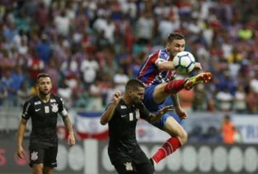Confira as imagens entre Bahia x Corinthians pelo Brasileirão |