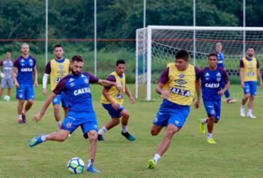 Bahia faz último treino no Fazendão antes de pegar o Corinthians | Felipe Oliveira | EC Bahia